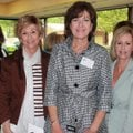 Saving Grace supporters Joan Clifford, from left, Debra Senser, Virginia Castleman, Susan Duke, Dawn...