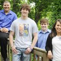 Springdale members of the Northwest Arkansas All-Academic Team Michael Robinson, from left, of Sprin...