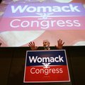 Steve Womack speaks to supporters at his watch party on election night Tuesday at the John Q. Hammon...