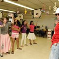 SCHOOL OF ROCK - Ileana Davis, right, teacher at Westside Elementary School, leads a group Thursday ...