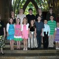 PIANO RECITAL - The students of Linda M. Calhoun were presented in recital April 26 at the Mildred B...