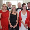 Northwest Arkansas Heart Gala chairmen Chuck and Suzy Fehlig, from left, are joined at the VIP recep...