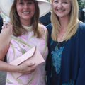 Concert on the Lawn chairwoman Leslie Belden, left, and Habitat for Humanity Washington County Execu...
