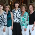 Friends of Bernice committee members Nancy Rosales, from left, Cyndi Pierre, Julie Roblee, Cheryl Mi...
