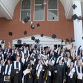CHARTER COMMENCEMENT - Forty-eight seniors celebrate their graduation Saturday from Benton County Sc...