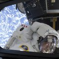 In this May 21, 2010 photo provided by NASA, astronaut Michael Good, STS-132 mission specialist, as ...