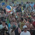 Crowds gather around the mainstage during a concert last year at the Wakarusa Festival near Ozark. M...