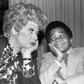 In this Nov. 19, 1979 file photo, comedian-actress Lucille Ball, left, poses with actor Gary Coleman...