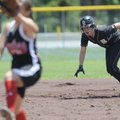Bentonville's Alex Sullivan leads off second base during a May 17 game at the Class 7A State Tournam...