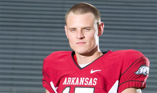 Arkansas quarterback Ryan Mallett debuted the new Nike look for football during a photo shoot in May.