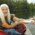 Roy Clark, a fishing guide from Eureka Springs, prefers trolling when it comes to catching trout at ...