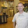Rick Stagner, manager at Eddie Bauer in Northwest Arkansas Mall, expects to reach the summit of Moun...