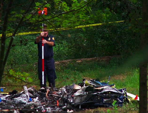 preliminary report on fatal ark  helicopter crash