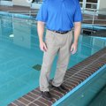 Dr. Chris Dougherty talks about his use of twin therapeutic pools in his treatment of athletes with ...