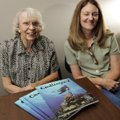 Frances Dillard, left, recently completed a reading program with her tutor Rhonda Davis from the Li...