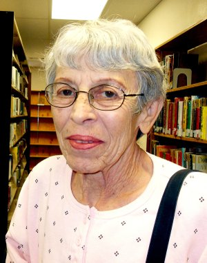 "Unice Selby of Gravette has been named ""Reader of the Month"" for October at the Gravette Public Library. ""Unice uses her library a lot; sometimes every day or at least once a week,"" said Kim Schneider, library director. ""I appreciate patrons like Unice who see the value of the library."" The library is open 9 a.m. to 4:30 p.m. Monday through Friday."