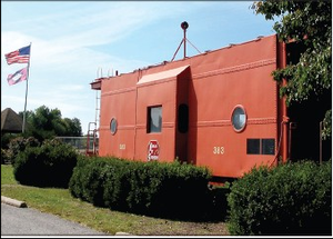 Word was received that Gravette's vintage caboose has been named to National Register.