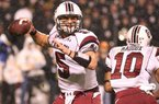 South Carolina quarterback Stephen Garcia, who has thrown for 1,904 yards and 13 touchdowns this season, has drawn a great deal of praise from Arkansas defensive coordinator Willy Robinson.