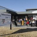The Fayetteville School District celebrates the opening Tuesday of the Wellness Clinic at Owl Creek ...