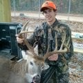 Hunters in pursuit of heavy-antlered bucks will hope for a trophy like this 12-point buck Nick Jared...
