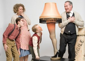 A Christmas Story runs through Dec, 26 at The Arkansas Repertory Theatre.