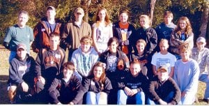 Eighteen members of the Gravette FFA Chapter participated in the Excel Program at Ferndale Center on Nov. 3.