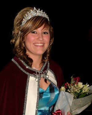 Terra Jones was crowned queen at Gentry coronation ceremonies on Friday night.