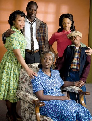 Theater reps raisin in the sun stars little rock native sciox Images