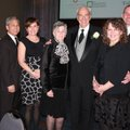 JoAnn and Arkansas Business Hall of Fame Inductee Don Soderquist, center, are joined by family membe...