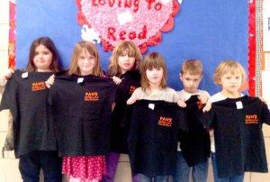 From the left: Taylor Snow, Sara Satchel, Bridgette Nunley, Saphfire Holloway, Matthew Oxford and Emily Denver.