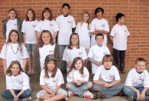 GIS Character Education T-shirt Winners