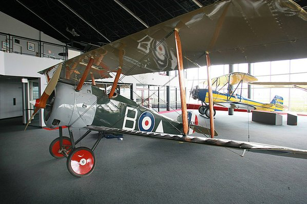 Sopwith Camel B5663 restored by The Vintage Aviator Ltd