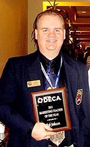 Bob Johnson Arkansas Marketing Teacher of the Year