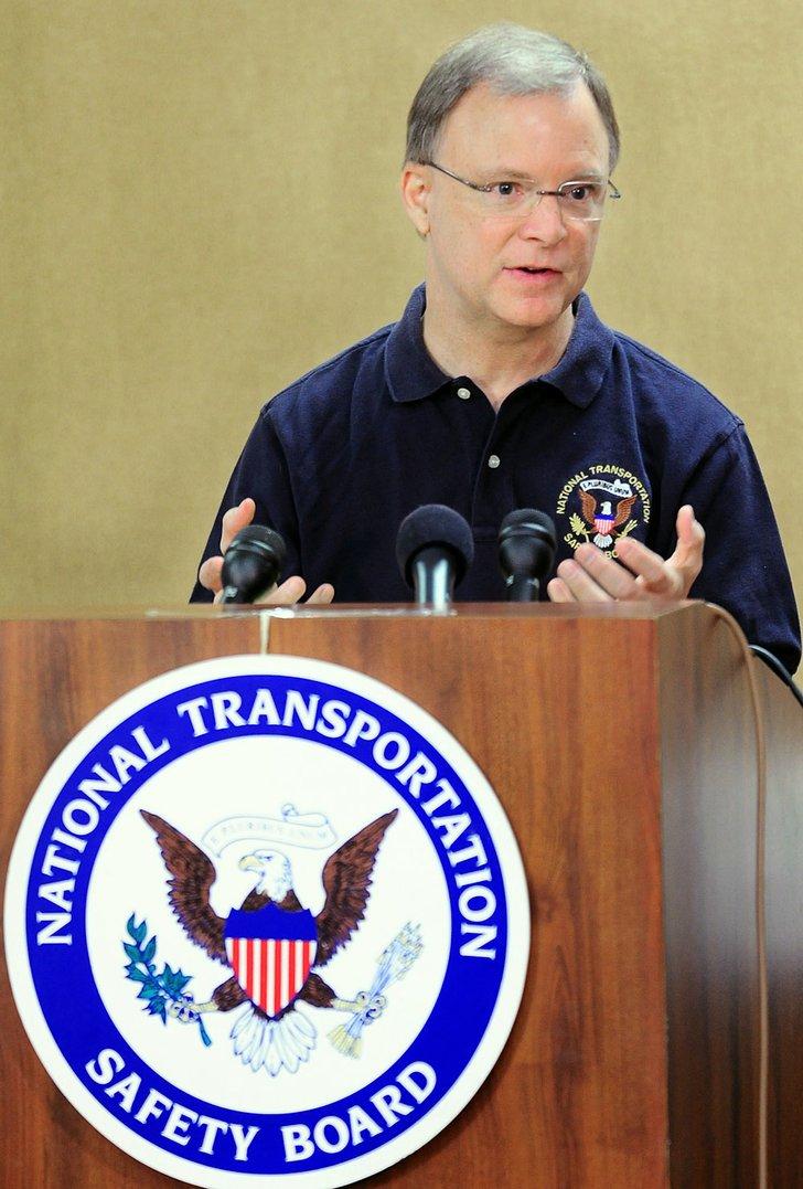 National Transportation Safety Board member Robert Sumwalt ...
