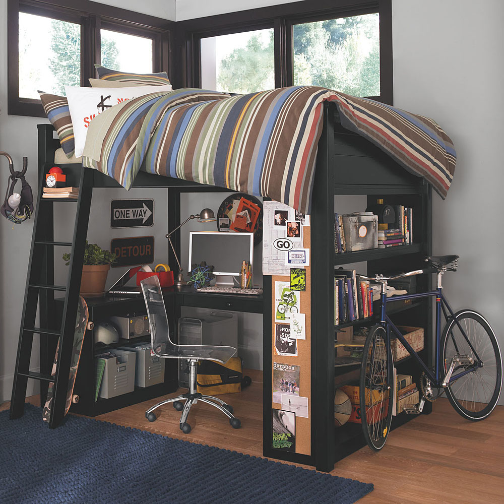 Loft Bed Designs With Desk