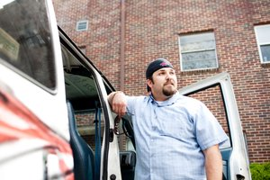 "Aaron Reddin, aka ""Homeless Heretic"" uses The Van to deliver food and supplies to the area's homeless."