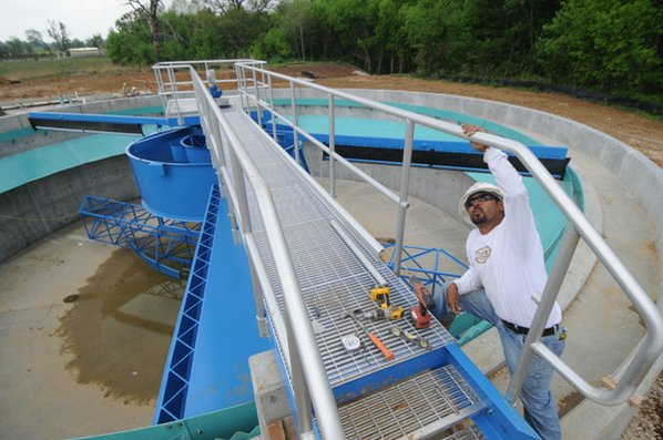 sewage plant built for growth nwadg