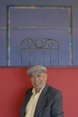 Ray Khoo of Jacksonville is an internationally renowned artist who has held art shows worldwide. Originally from Malaysia, much of Khoo's work is inspired by the theme of water