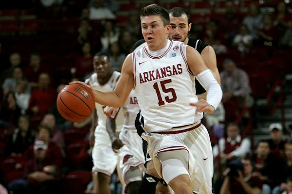 Arkansas guard Rotnei Clarke made a second request to be released from his scholarship but told CBSSports.com that Razorbacks Coach Mike Anderson would not grant it.
