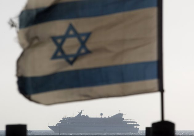 file-in-this-may-31-2010-file-photo-the-mavi-marmara-ship-the-lead-boat-of-a-flotilla-headed-to-the-gaza-strip-which-was-stormed-by-israeli-naval-commandos-in-a-predawn-confrontation-sails-into-the-port-of-ashdod-israel-israel-on-sunday-june-26-2011-threatened-to-ban-international-journalists-for-up-to-a-decade-from-the-country-if-they-join-a-flotilla-planning-to-breach-the-israeli-blockade-of-the-gaza-strip