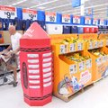 FILE — A shopper walks past a display for back-to-school supplies Wednesday, July 13, 2011, at the W...