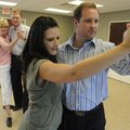Kevin and Heather Yingst of Bella Vista dance Wednesday, July 13, 2011, during a ballroom dance clas...