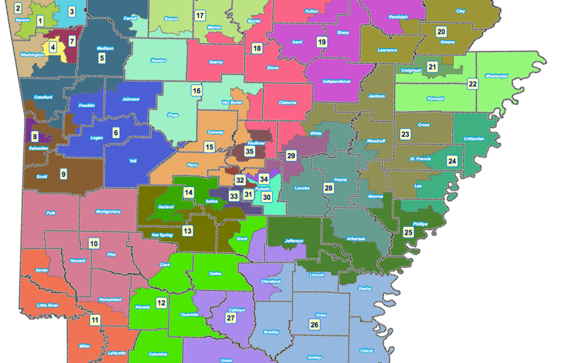 Arkansas State Redistricting
