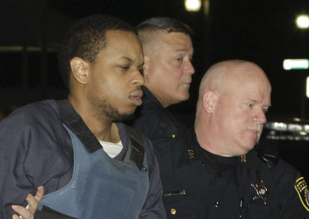 file-abdulhakim-muhammad-is-escorted-to-the-pulaski-county-courthouse-in-little-rock-ark-friday-july-22-2011-before-the-fifth-day-of-his-trial-for-the-2009-shooting-death-of-a-soldier-and-wounding-of-another-outside-a-little-rock-recruiting-center