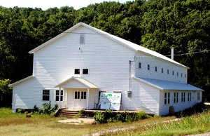 """The """"Camp Crowder"""" gymnasium at Sulphur Springs will be considered for nomination to the National Register of Historic Places because of its World War II construction and good condition."""