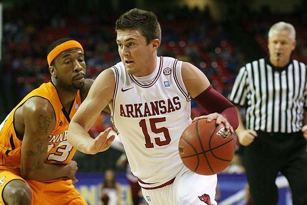 Rotnei Clarke was known for his shooting more than anything else in his three years at Arkansas.