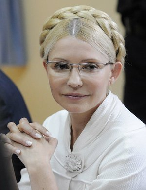 Former Ukraine President Yulia Tymoshenko on Oct. 11, 2011.