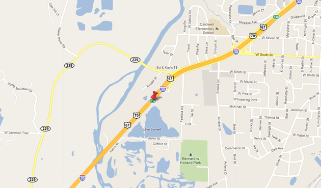 the-approximate-location-of-a-wreck-that-has-closed-i-30-is-shown-with-a-red-marker-in-this-google-map