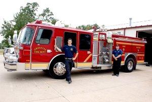 Gravette's New Fire Truck
