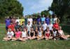 Fayetteville High cross country teams.